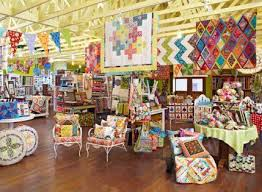 35 best inspiring shops images on Pinterest | Quilt shops, Shop ... & Bright rafters and brilliant colors establish a sunny disposition of a  charming quilt shop in Dripping Springs, Texas. Adamdwight.com