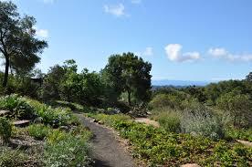 vista across santa barbara botanic garden