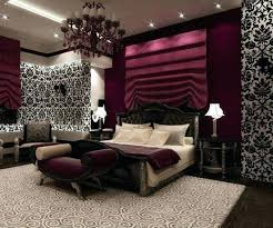 Maroon And Gold Bedroom Ideas Outstanding White Loft With Unique ...