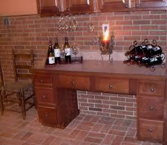 Red Brick Tiles Kitchen Brick Tiles For Backsplash In Kitchen Home Design Ideas