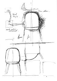 Furniture Sketches Furniture Sketch Of The Chair Sixe Designed By Pearsonlloyd Howe