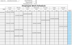 Work Schedule Calendar Template Monthly Work Schedule Calendar Template Employee Restaurant
