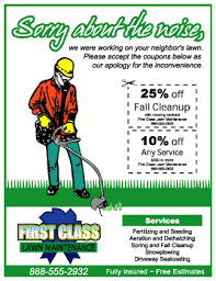 lawncare ad how long should you wait to follow up with your lawn care flyers