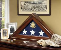 personalized flag display case. Plain Personalized Five Star General American Flag Case 599 In Personalized Display