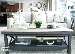 full size of barn coffee table impressive wood top regarding modern pottery ideas to home interior