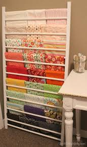 Repurposed Furniture Projects And More My Lifeac2a2 Quilt Rackc2a0 ... & Full Size of Repurposed Quilt Rackc2a0 Rackrepurposed Babynto Rack Tame  Your Stash With Creative Fabric Storagedeas ... Adamdwight.com