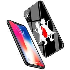 LiangChu 9H Tempered Glass iPhone XR Cases, LC-87 <b>Hunter x</b> ...