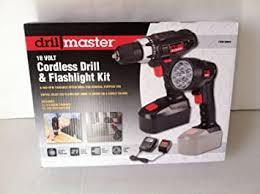 Drill Master 18 Volt Cordless 3/8 In. Drill/Driver And ... - Amazon.com