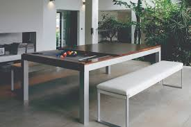 Dining Table Pool Tables Convertible Lynx Grey Felt Wood Trim Pool Table Air Hockey Table Woodline