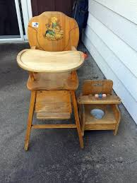 Vintage High Chair Potty Chair Berg Estate Auction