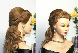 Elegant Prom Hair Style easy prom hairstyles for long hair bridal hairstyle tutorialbraid 8977 by wearticles.com