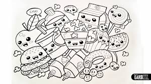 Draw So Cute Coloring Pages People