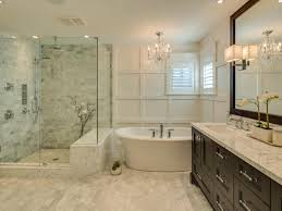 Bathroom, Amazing Master Bath Remodel Master Bathroom Remodel Before And  After Shower With Glass Wall