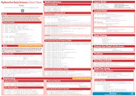 python regex cheat sheet top 6 cheat sheets novice machine learning engineers need