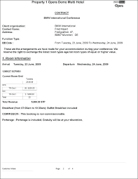 Catering Service Agreement Template Contract For Catering Services