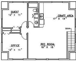 house plans with 2 bedrooms in basement awesome 1 bedroom basement apartment floor plans