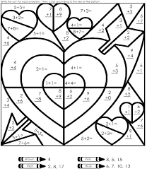 4th grade color pages fun multiplication worksheets 4th grade 4th 762532