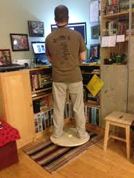 picture of diy balance board