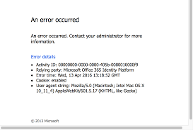 Troubleshooting Office 365 Login Issues