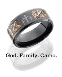 camo and crosses what more does a country boy need 9 mm black zirconium realtree ap camo ring camokix collinwebb