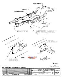 No 3 inner outer body bracket