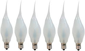 Silicone Dipped Night Light Bulbs Creative Hobbies Silicone Dipped Flickering Flame Bulb Country Style Electric Candle Lamp Chandelier Light Bulbs 3 Watt Individually Boxed Pack