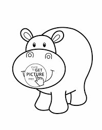 Small Picture Image Ppinewsco Baby Daisy Page Wecoloringpage Baby Hippo Coloring