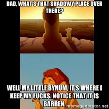 dad, what's that shadowy place over there? well my little bynum ... via Relatably.com