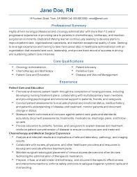 pillivative nurse sample resume email cover letter job oncology rn resume resume sample oncology nurse practitioner professional resume for debbie goldman page 1 oncology