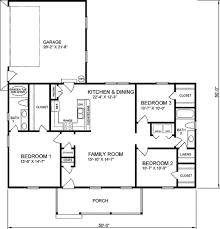 traditional style house plan 3 beds 2 baths 1400 sq ft 66 magnificent is square feet