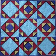 44 best Two block quilts images on Pinterest | Block quilt ... & Week Two: Hope Blocks! Using just the Week Two block you can make this Adamdwight.com