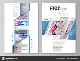 Blog Graphic Business Templates Page Website Design Template