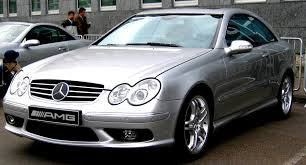 Mercedes Benz CLK 55 AMG C209 2003 on MotoImg.com