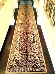 animal print rug runners runner cheetah bathroom rugs stair leopard carpet