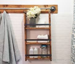 diy a wall organizer that hangs from a bar inspired by pottery barn gabrielle system