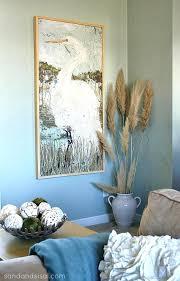 5 ways to fill a blank wall white heron art wooden  on white heron wall art with great blue heron wall art bird 1 ikanik