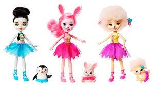 <b>Набор</b> из трех кукол Enchantimals Волшебные бале... — купить ...