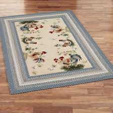 amusing ens drawing non slip kitchen area rugs in blue color and beige background