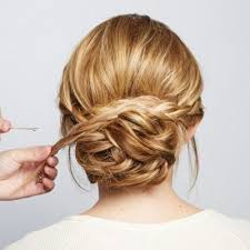 How To Diy Chic Braided Chignon Hairstyle