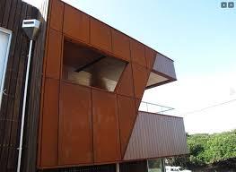 corten cladding project corten steel panels21