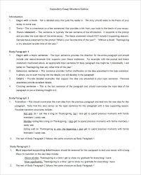 paragraph essay outline literary essay format literature exam  7