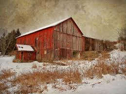 this beautiful and haunting photograph is by larry marshall who not only the beautiful red colour but the feeling of this barn