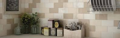 Cream Kitchen Wall Tiles