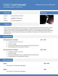 Doc Resume Template Inspiration Template Resume Doc Cv Template Resume Doc Template Newsoundco