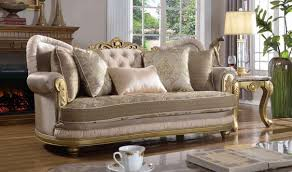 Traditional Living Room Set 658 Valencia Traditional Living Room Set In Rich Gold By Meridian