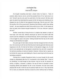 Narrative Essay Example College Personal Narrative Essay Celo Yogawithjo Co Intended For