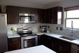 Pictures Of Kitchens With Dark Cabinets And Light Countertops dark