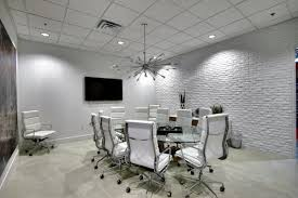 white office design. industrial style office space interior design mid century modern vintage white e