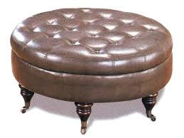 round leather ottoman coffee table. Circular Leather Ottoman Round Coffee Table Impressive With Stunning E