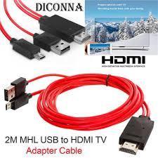 Cáp chuyển đổi từ đầu Micro USB sang đầu HDMI cho tivi S3/s4 Samsung Hd